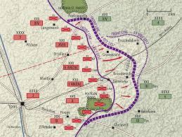 Passchaendale Map