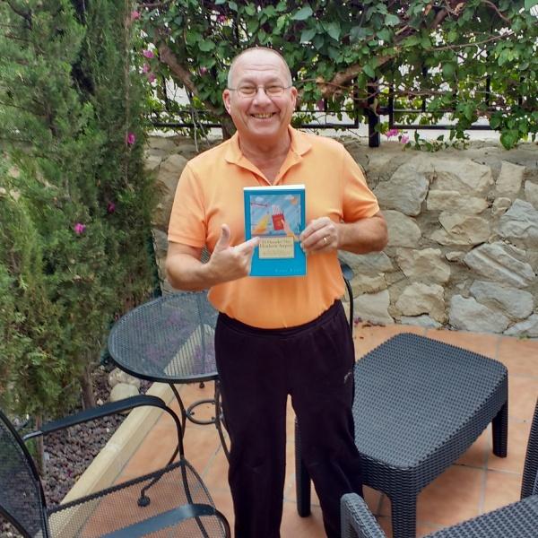 Tony with book