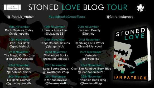 Stoned Love by guest author Ian Patrick | Val Penny's Book Reviews